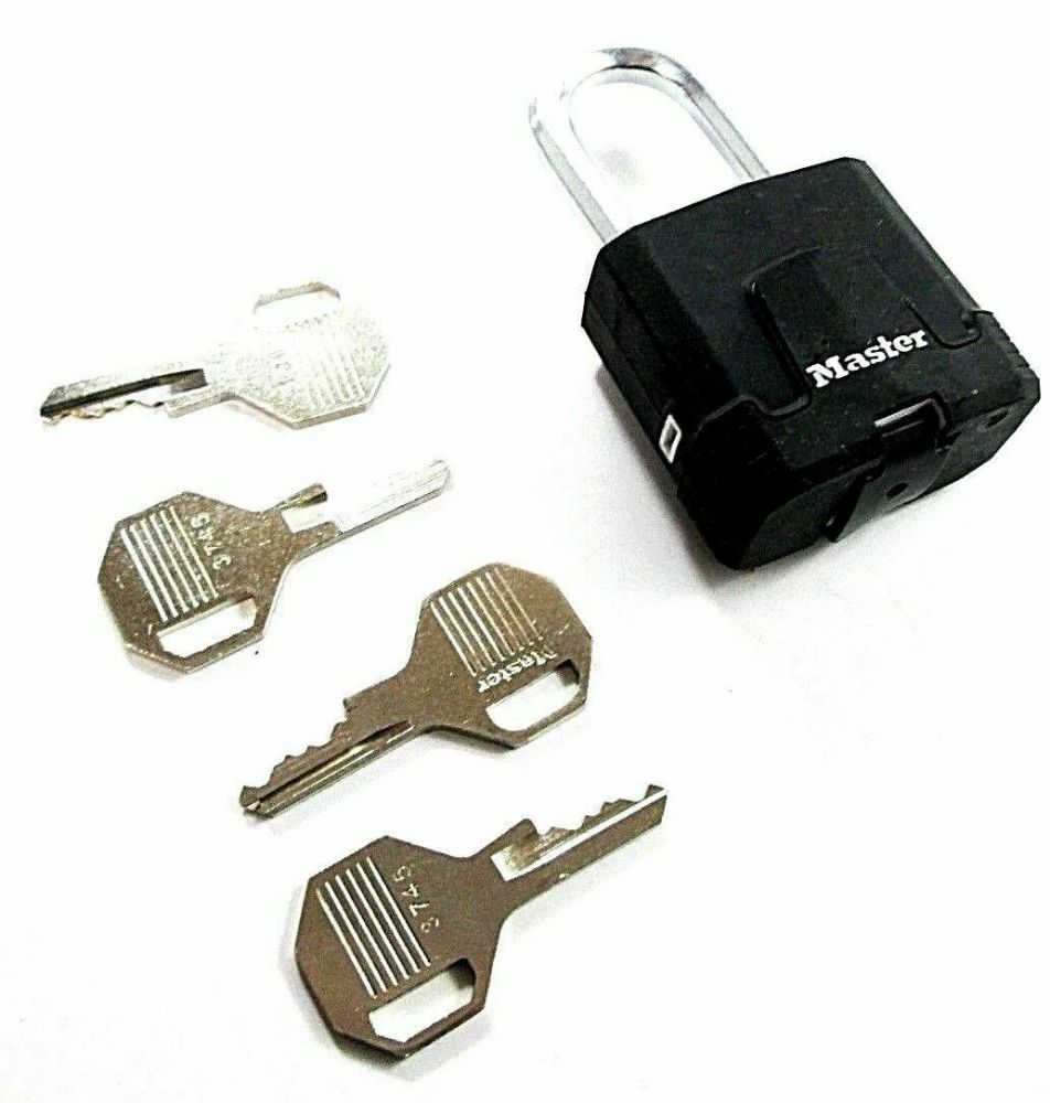 Masterlock Excell M115DLF 45MM X 38MM Padlock 4 Keys Security Level 8